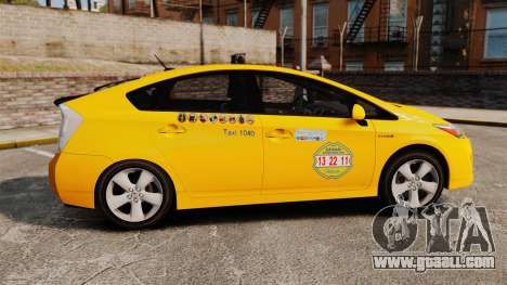 Toyota Prius 2011 Adelaide Independant Taxi for GTA 4 left view