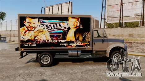 Stars of wrestling at Yankee for GTA 4 back left view