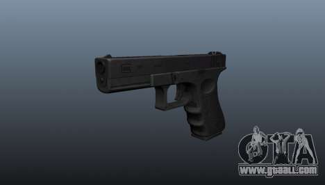 Glock 18 machine pistol for GTA 4