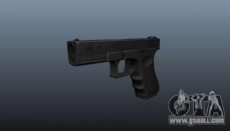 Glock 18 machine pistol for GTA 4