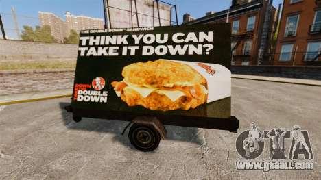 New billboards on wheels for GTA 4