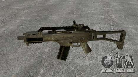 Assault Rifle G36C for GTA 4 third screenshot