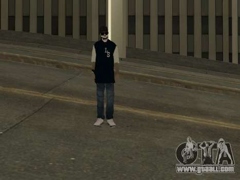 Vagos Skin Pack for GTA San Andreas