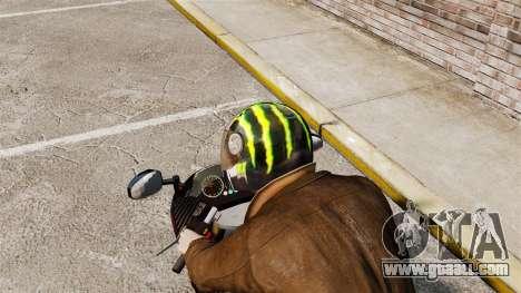 A collection of helmets Arai v2 for GTA 4 sixth screenshot