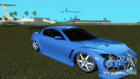 Mazda RX8 Type 1 for GTA Vice City bottom view