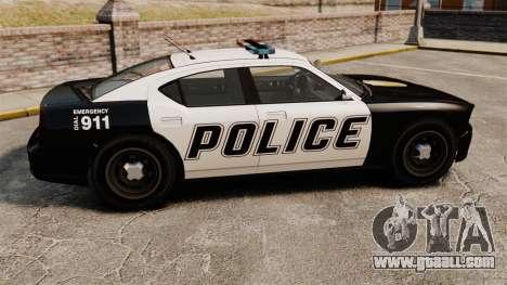 GTA V Buffalo Police for GTA 4 left view