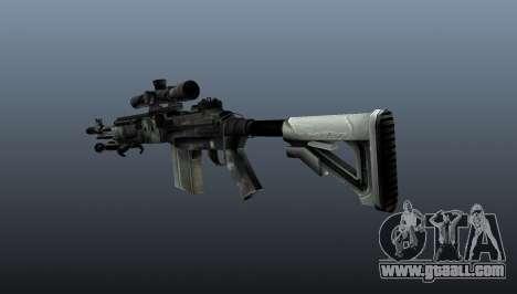 Sniper rifle M21 Mk14 v3 for GTA 4 second screenshot