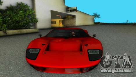 Ford GT40 MkI 1965 for GTA Vice City left view