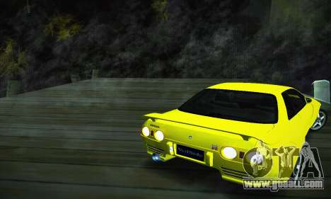 Nissan Skyline R32 GT-R for GTA San Andreas left view