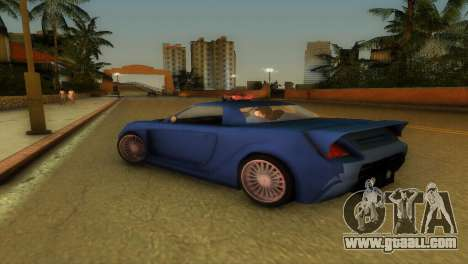 Toyota MR-S Veilside Hardtop for GTA Vice City back view