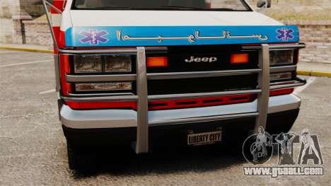 Iranian ambulance for GTA 4 right view