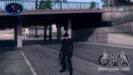 Freddy Krueger for GTA San Andreas