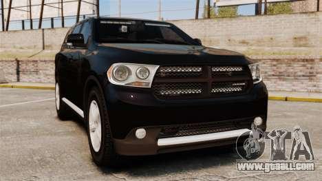 Dodge Durango 2013 Sheriff [ELS] for GTA 4