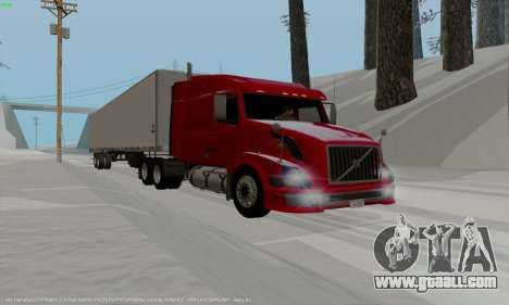 Volvo VNL 630 for GTA San Andreas left view