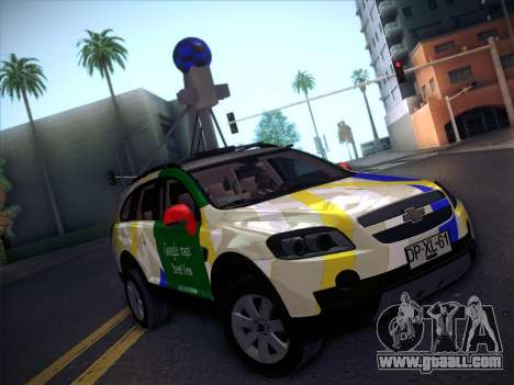 Chevrolet Google Street View Chile for GTA San Andreas