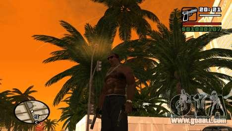 Semi-automatic pistol for GTA San Andreas second screenshot