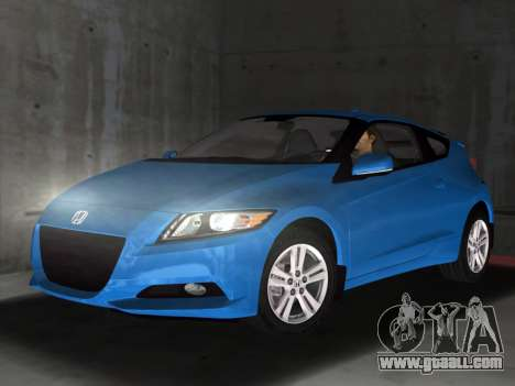 Honda CR-Z 2010 for GTA Vice City left view
