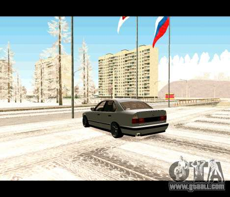 BMW 5 E34 cramps-er for GTA San Andreas left view