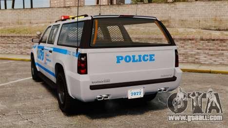 GTA V Declasse Police Ranger 3500PE [ELS] for GTA 4 back left view