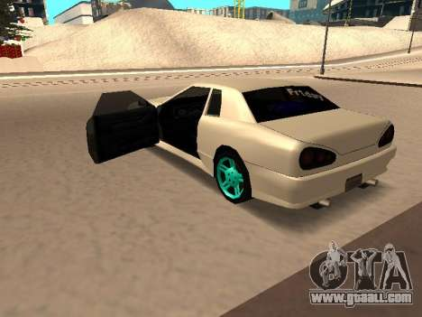 Elegy for GTA San Andreas left view