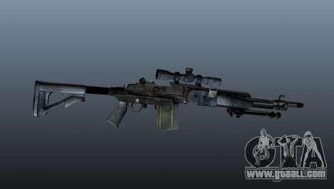 Mk14 M21 sniper rifle v2 for GTA 4 third screenshot