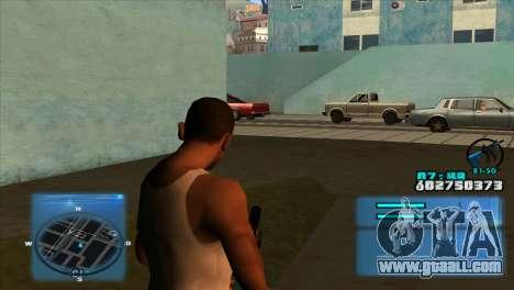 C-HUD Battlefield 3 for GTA San Andreas