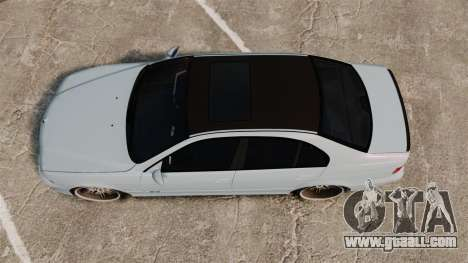 BMW M5 E39 2003 for GTA 4 right view