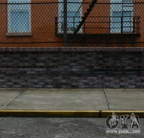 The new crosshair for aiming for GTA 4