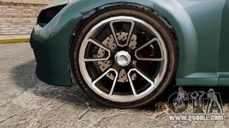 GTA V Zion XS Cabrio for GTA 4 back view