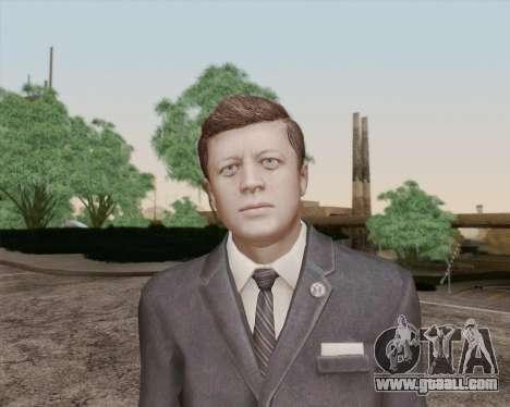 John Kennedy for GTA San Andreas third screenshot