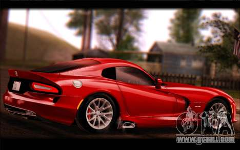 SRT Viper Autovista for GTA San Andreas right view