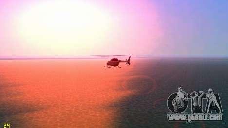 Sun effects for GTA Vice City fifth screenshot