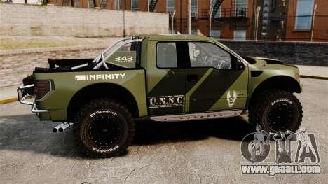 Ford F150 SVT 2011 Raptor Baja [EPM] for GTA 4 left view