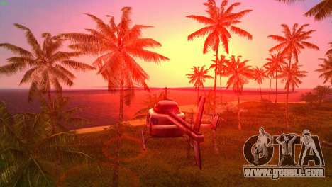 Sun effects for GTA Vice City