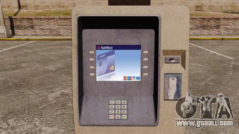 Natwest Cash Machine for GTA 4