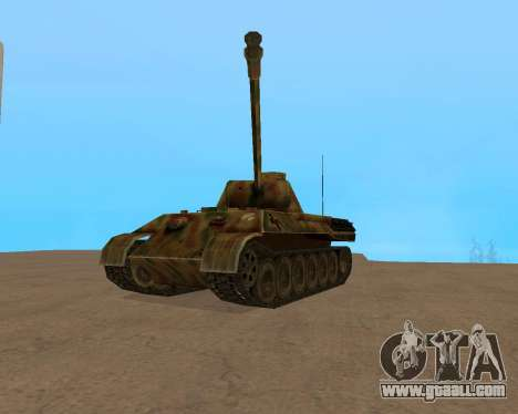 pz.kpfw v Panther for GTA San Andreas