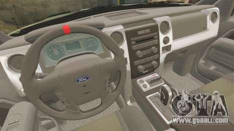 Ford F150 SVT 2011 Raptor Baja [EPM] for GTA 4 side view