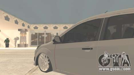 Ford Fiesta Rocam Edit for GTA San Andreas back left view