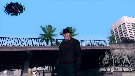 Freddy Krueger for GTA San Andreas forth screenshot