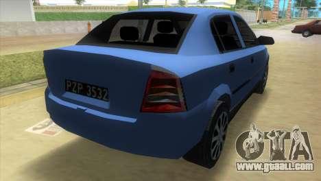 Opel Astra 4door 1.6 TDi Sedan for GTA Vice City left view