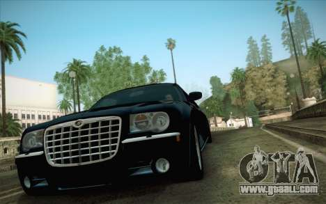 Chrysler 300C Limo 2007 for GTA San Andreas back view