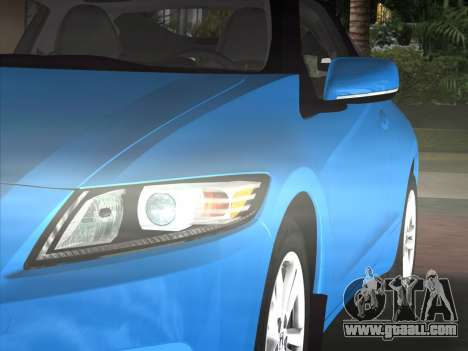 Honda CR-Z 2010 for GTA Vice City back view