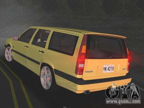 Volvo 850 R Estate for GTA Vice City right view