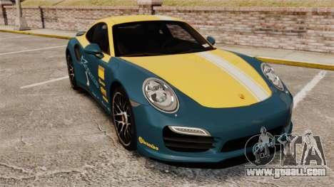 Porsche 911 Turbo 2014 [EPM] Alpinestars for GTA 4