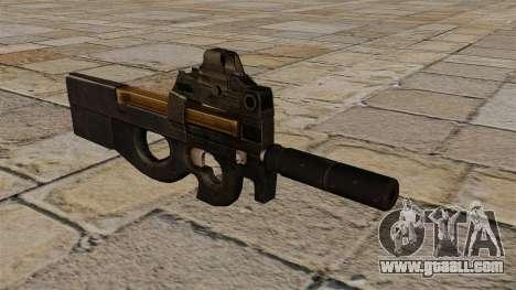 P90 submachine gun new for GTA 4