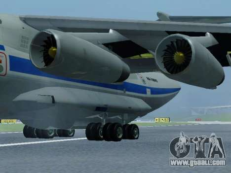 Il-76td v1.0 for GTA San Andreas back left view