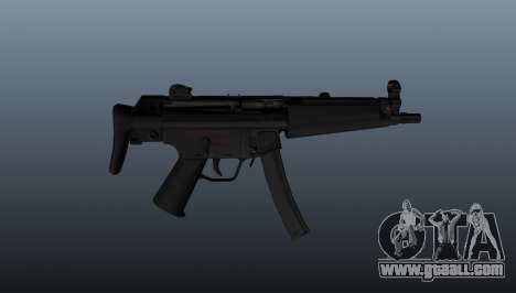 HK MP5A5 submachine gun for GTA 4 third screenshot