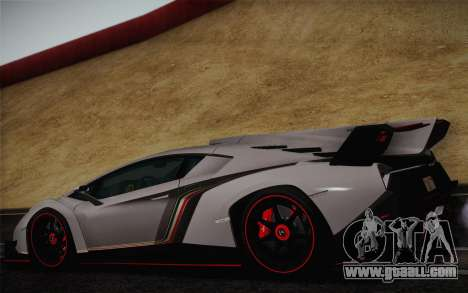 Lamborghini Veneno LP750-4 2013 for GTA San Andreas right view