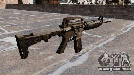 Semi-automatic AR-15 rifle for GTA 4 second screenshot