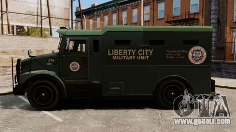 Military Enforcer for GTA 4 right view